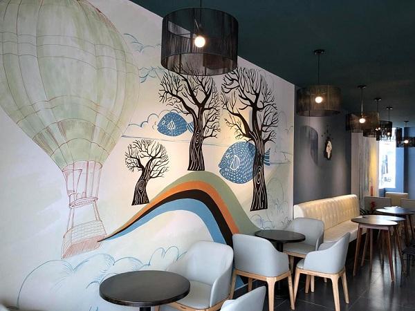 Báo giá thiết kế thi công quán café 1
