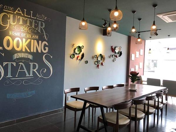 Báo giá thiết kế thi công quán café 2