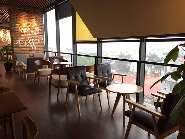 Báo giá thiết kế thi công quán café 11
