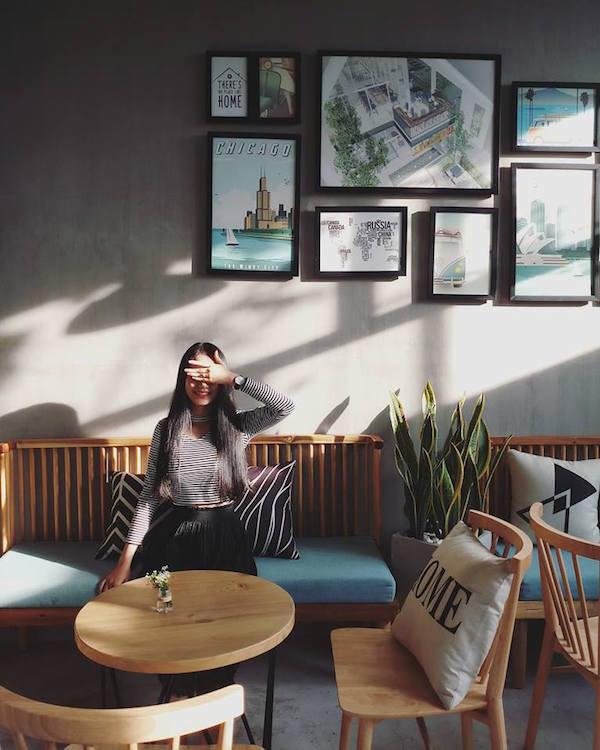 Mẫu quán cafe đẹp 2