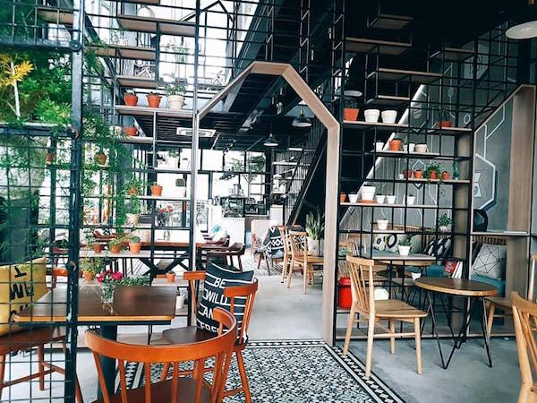 Mẫu quán cafe đẹp 5