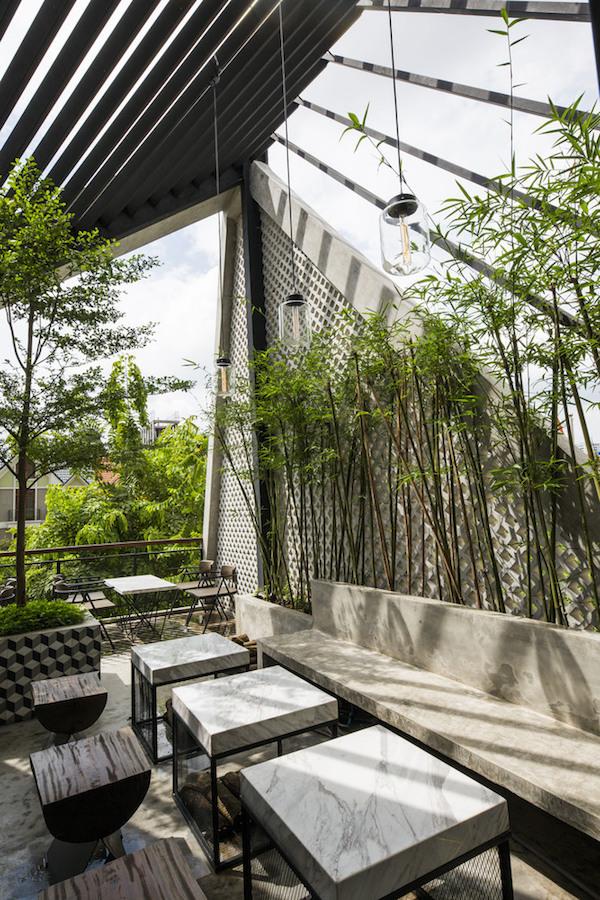 Thiết kế nội thất quán cafe đẹp 9