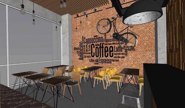 Thiết kế nội thất quán cafe đẹp 14