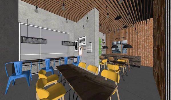 Thiết kế nội thất quán cafe đẹp 15