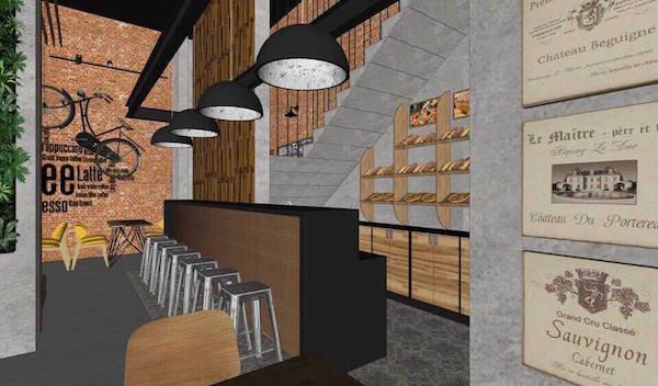 Thiết kế nội thất quán cafe đẹp 16