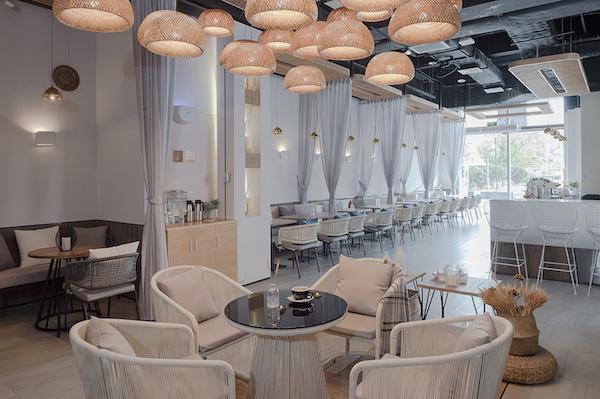 Thiết kế nội thất quán cafe đẹp 4