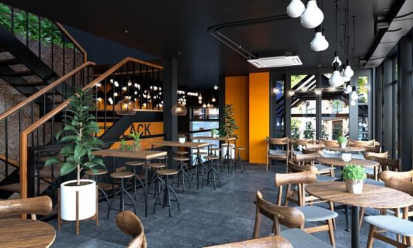 Thiết kế quán cafe đẹp 9