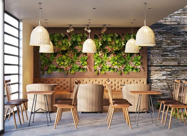 Thiết kế quán cafe đẹp 4