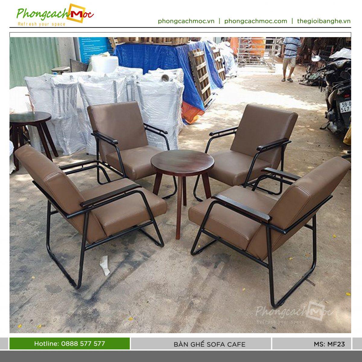 mẫu bộ bàn ghế sofa cà phê mf23 pcm