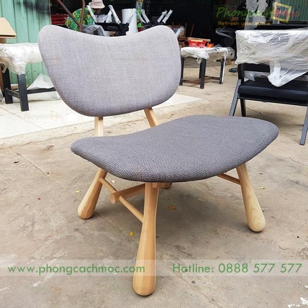 ghế gỗ sofa với kiểu dáng độc đáo