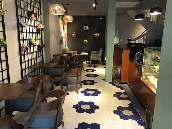 phong cách cổ điển quán cafe