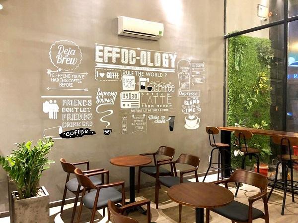 Báo giá thiết kế thi công quán café 8