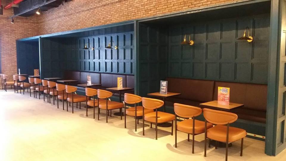 không gian quán cà phê cgv landmark