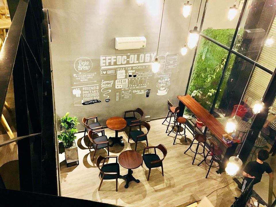nội thất quan cafe effoc tại an dương vương