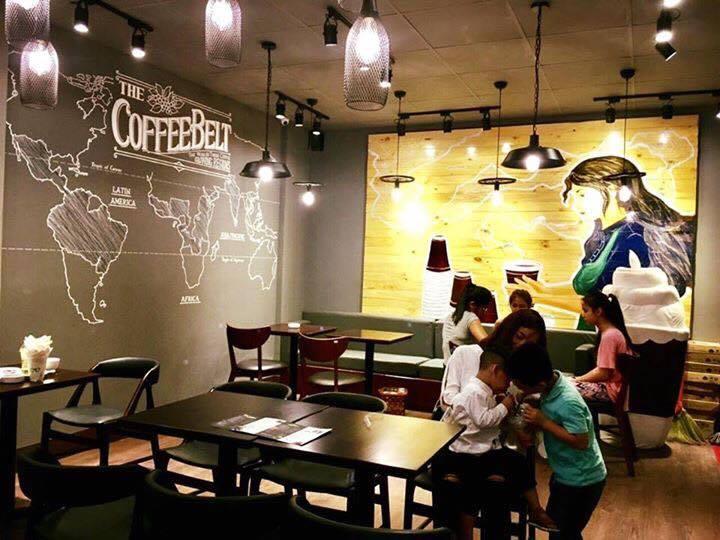 trang trí quán cà phê effoc tại quảng ninh