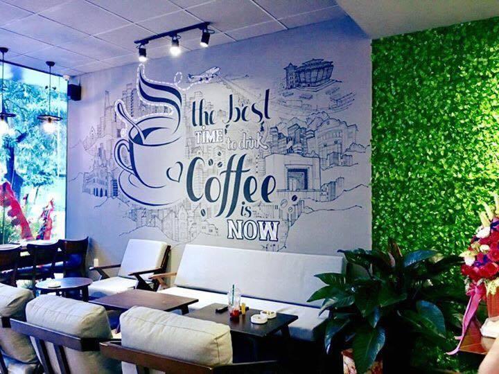 không gian quán effoc coffe tại quảng ninh