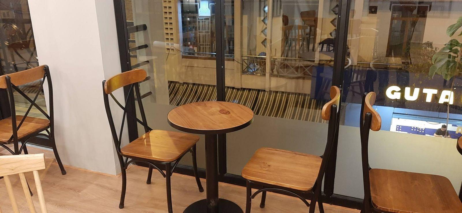 bộ bàn ghế bistro cao cấp pcm cung cấp