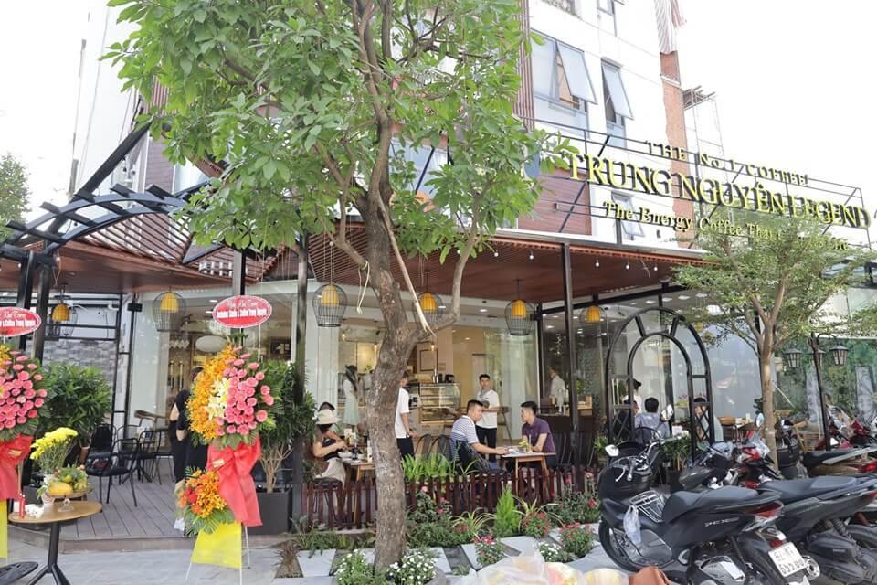 trung nguyên legend cafe tại quận 7 tphcm