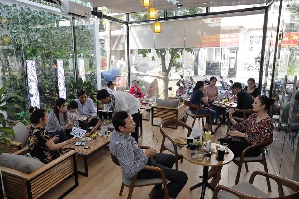 nội thất quán cafe mang lại cảm giác thư giãn thoải mái nhất