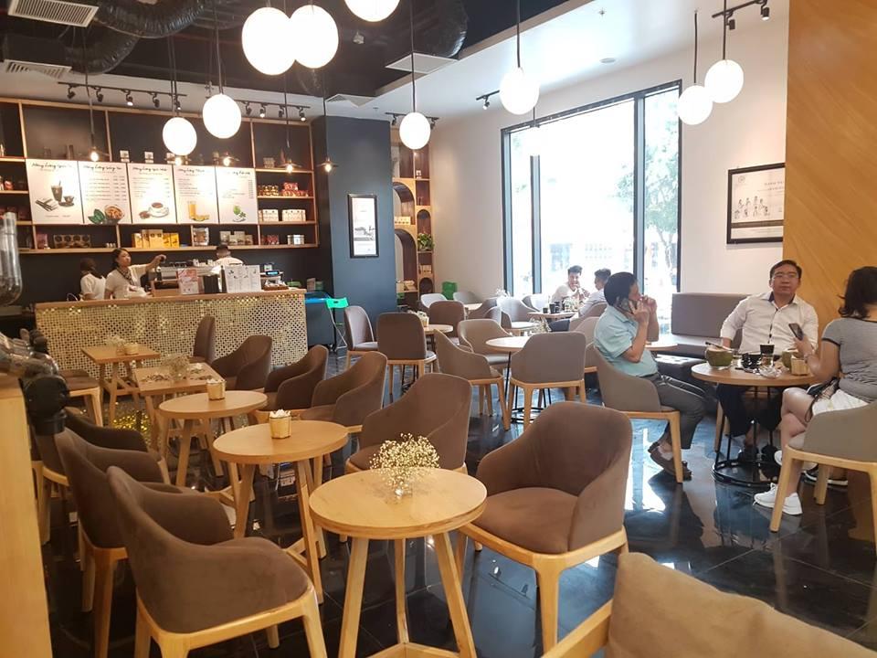 bàn ghế nội thất quán cafe cao cấp