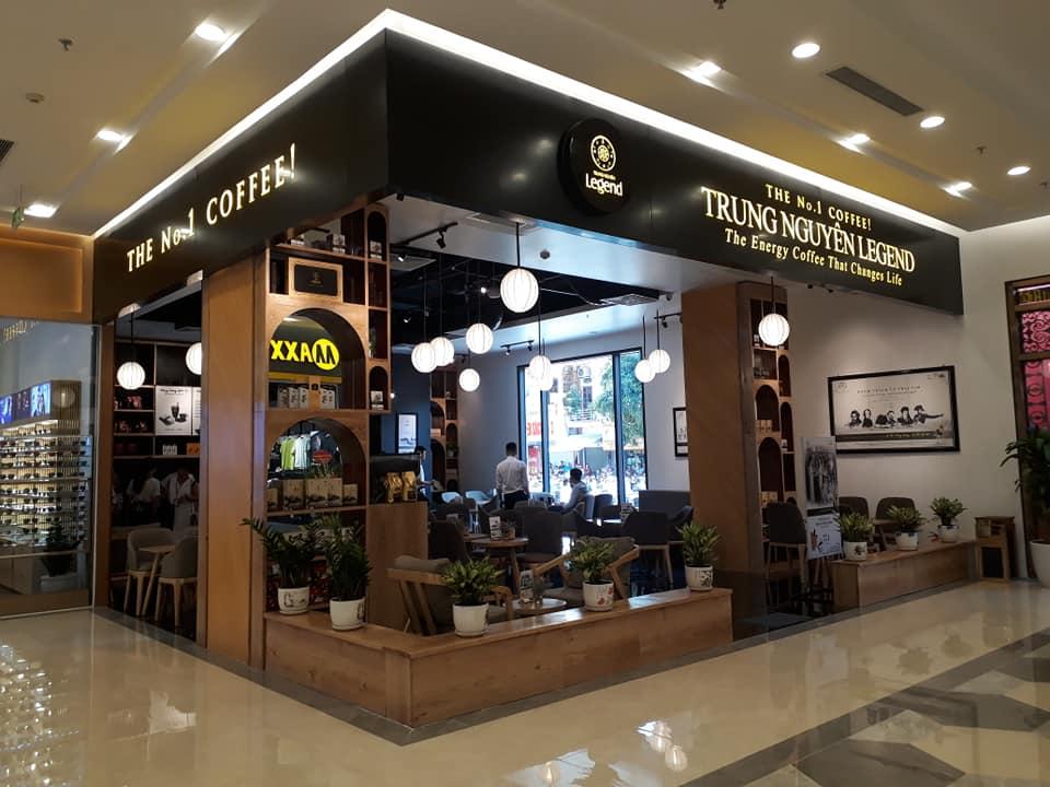 quán cafe trung nguyên legend tại vincom hà nam