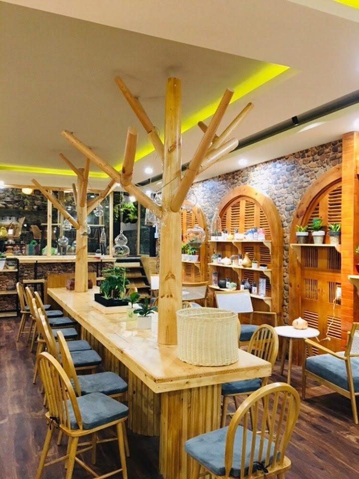 không gian nội thất tiệm bánh mix bakery tại phú quốc