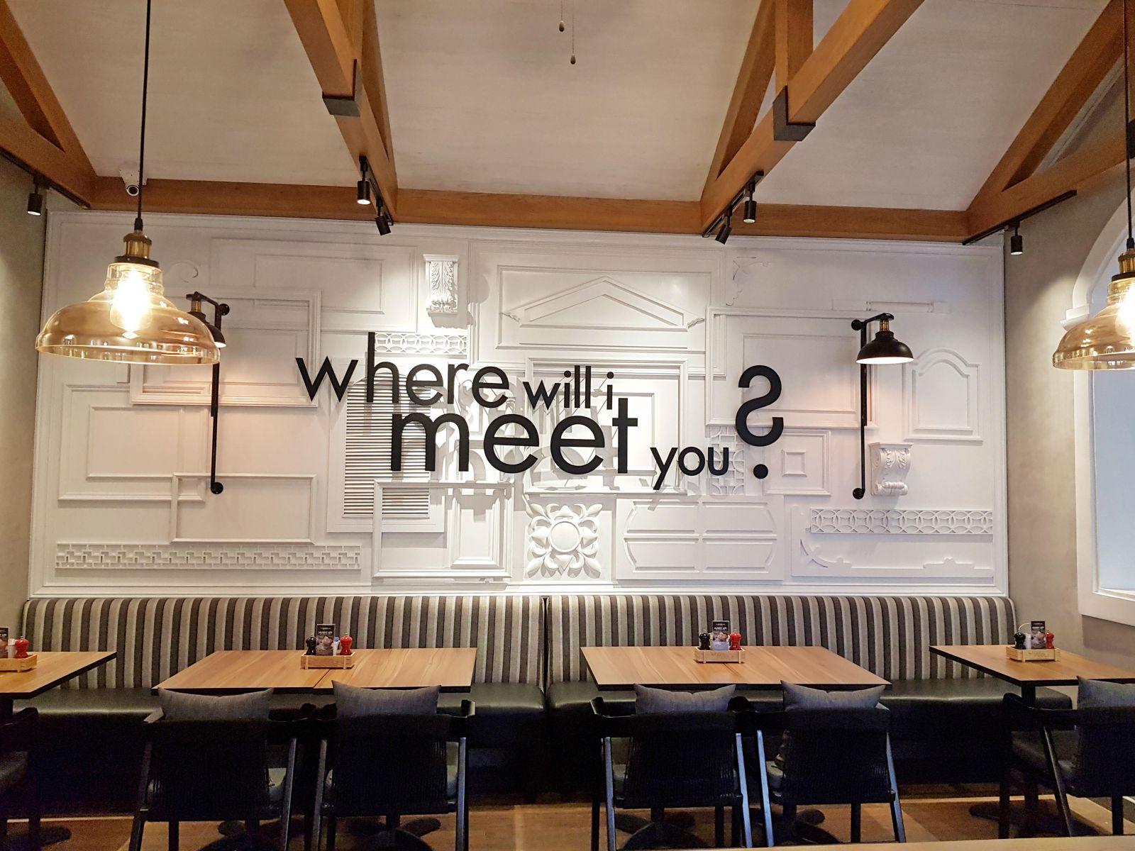 câu slogan của the coffee club