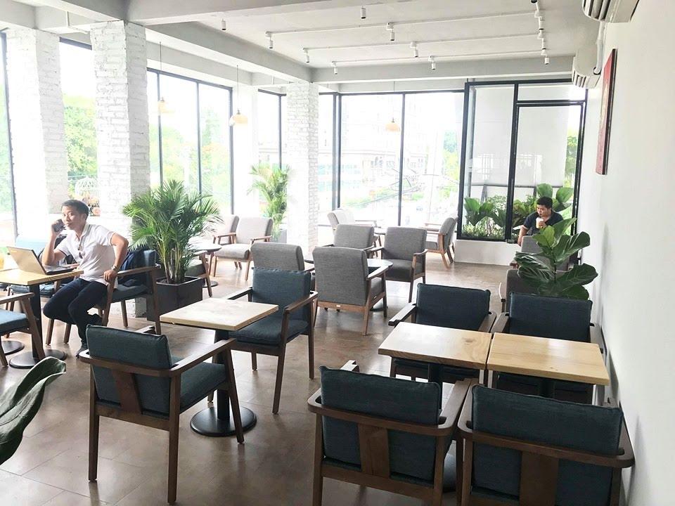 bàn ghế nội thất quán cà phê the monday