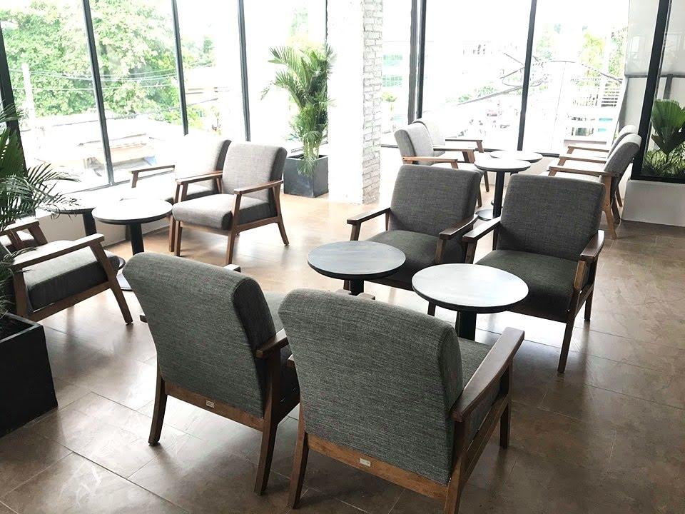 bày trí ghế sofa mf70 dành cho 4 người