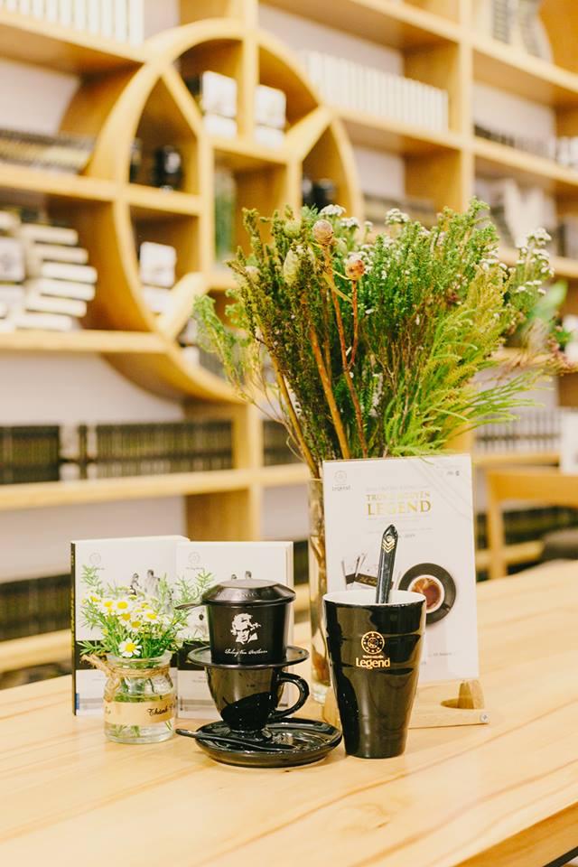 trung nguyên legend cafe luôn để lại ấn tượng trong lòng khách hàng mỗi khi tới đây