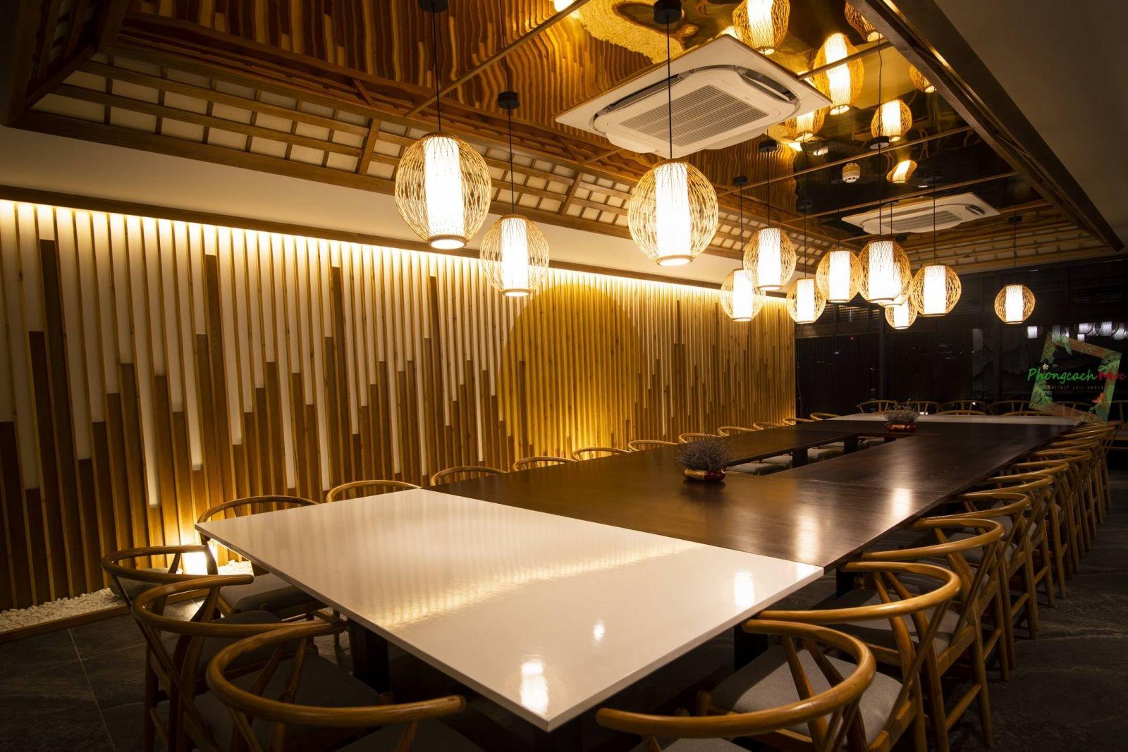 Không gian nhà hàng Sushi World VIP Room 02