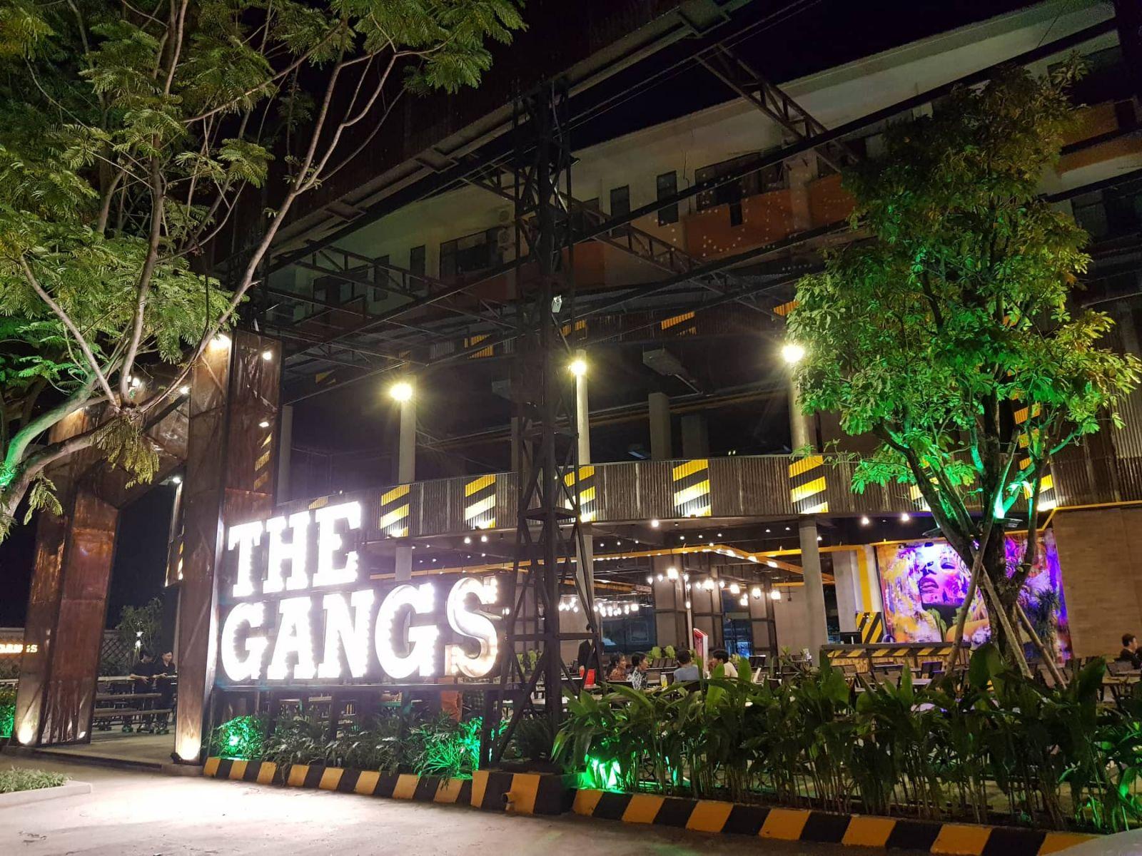 không gian nhà hàng the gangs tại quận 10