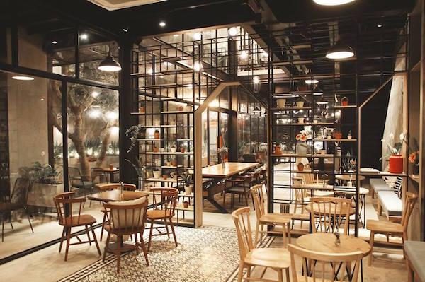 Mẫu quán cafe đẹp 3