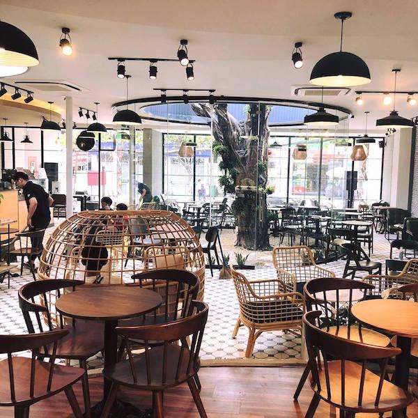 Mẫu quán cafe đẹp 9