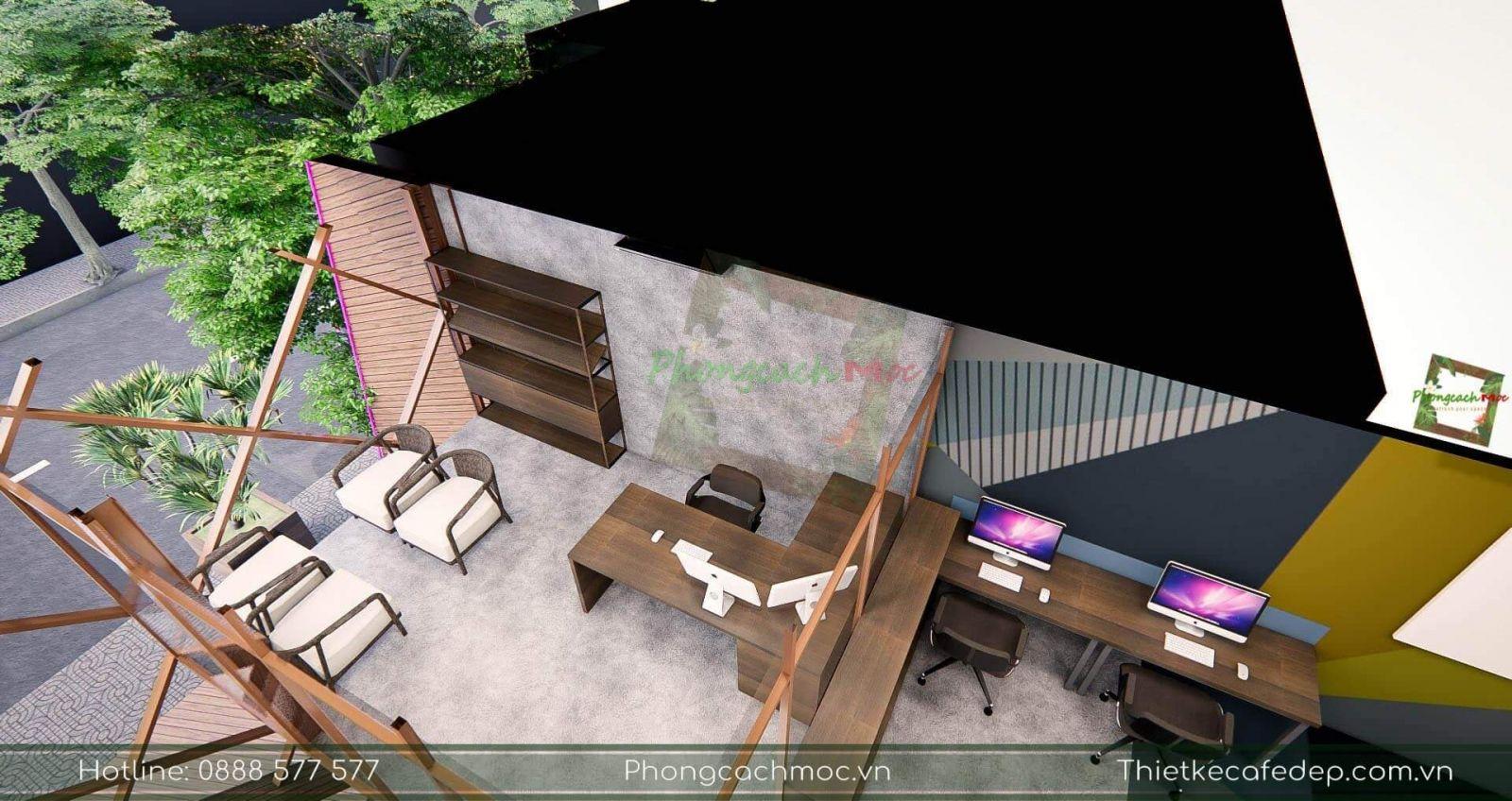 kts thiết kế nội thất văn phòng pcm tại quận 2
