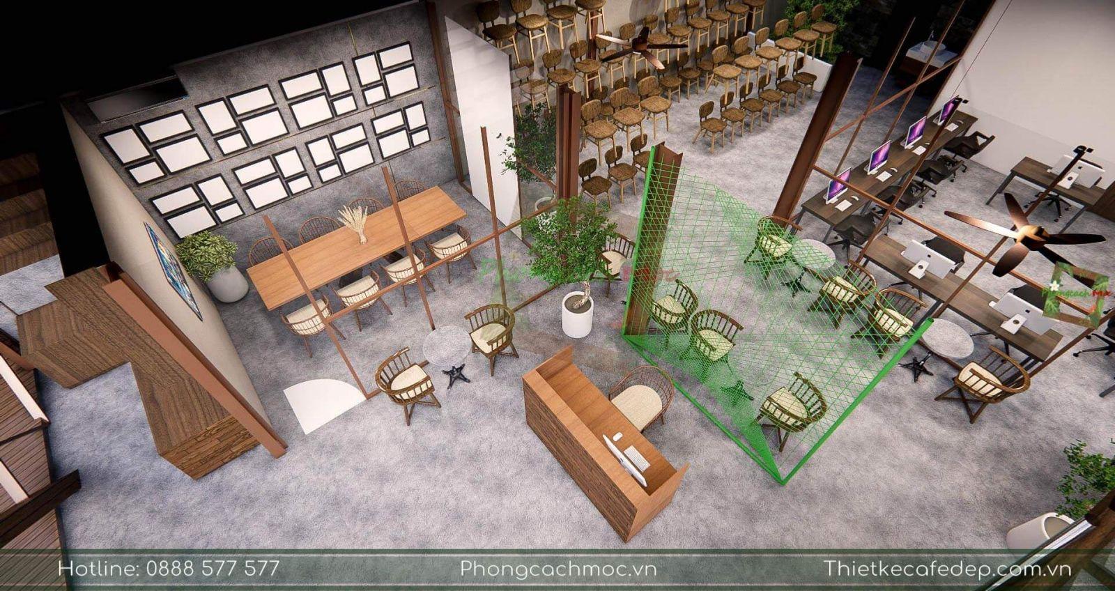 thiết kế layout dự án pcm workshop