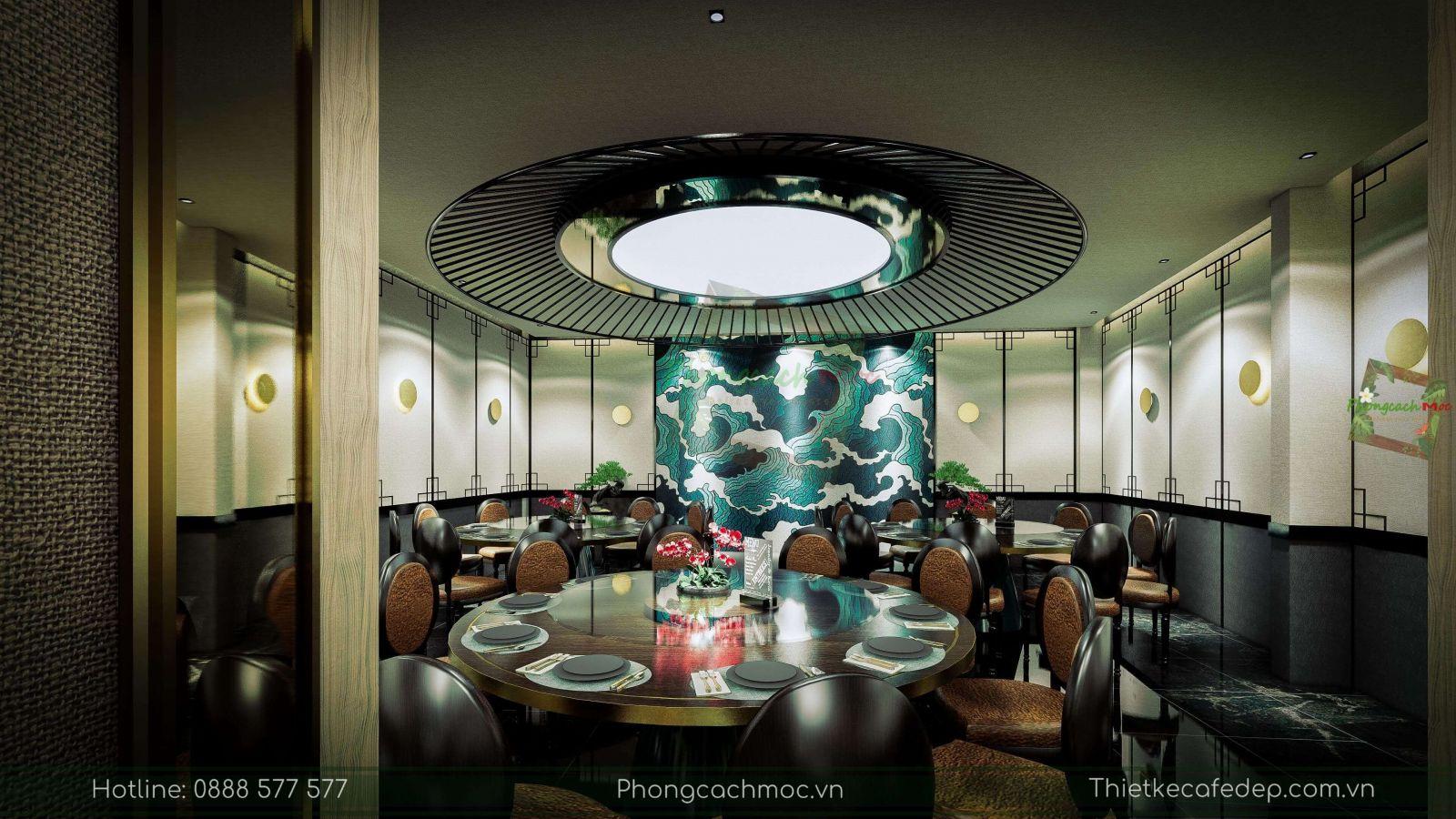 thiết kế nhà hàng trung hoa - nội thất phòng vip 1 - 3
