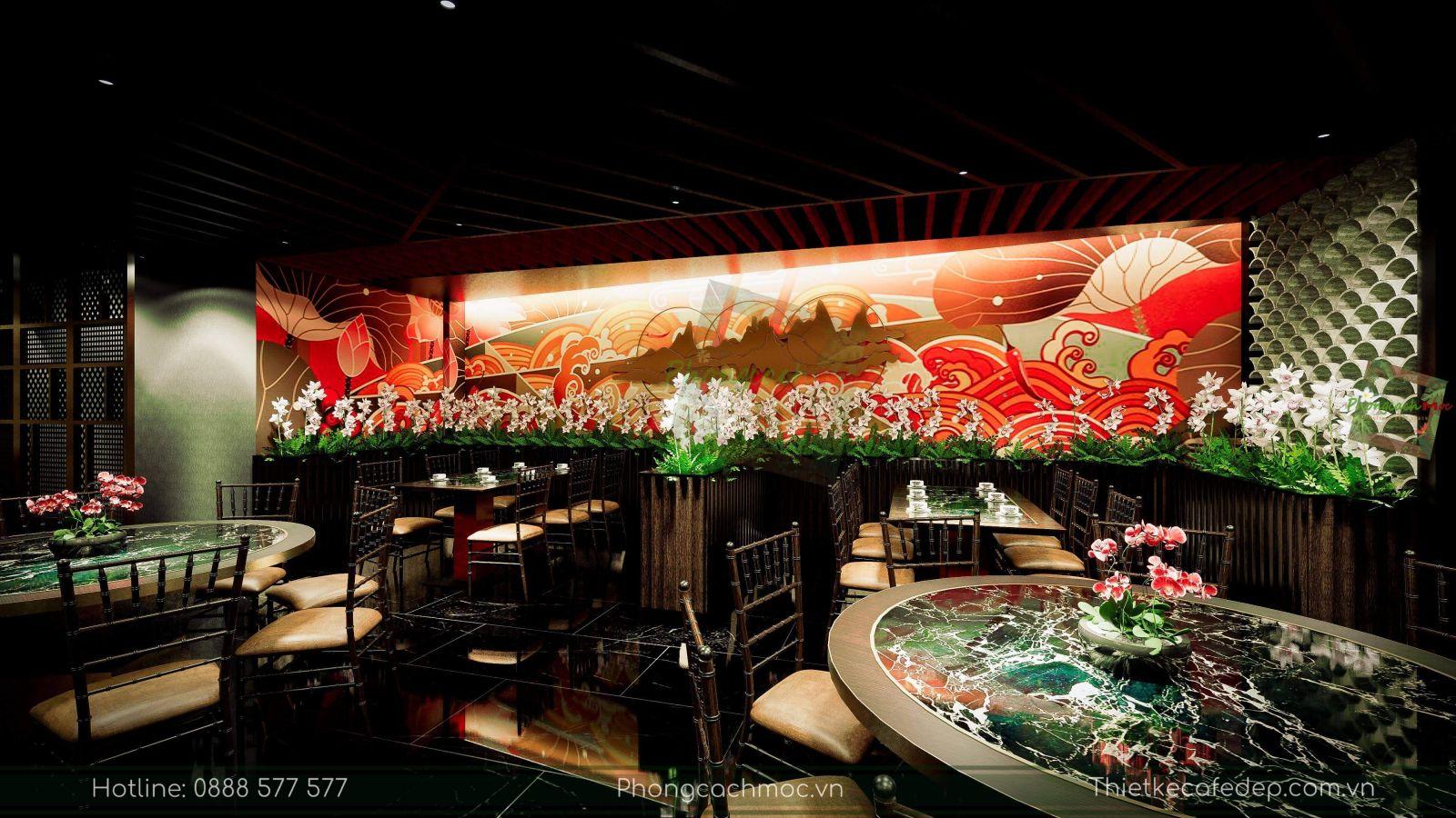 thiết kế nhà hàng trung hoa - chu dimsum house - 4