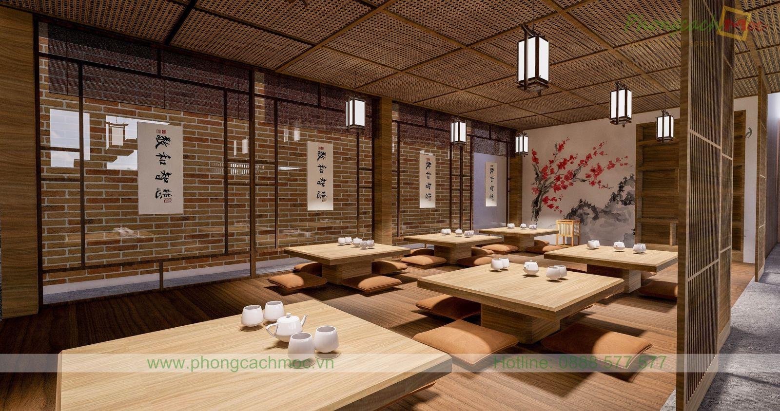 từng góc nhìn tổng thể thiết kế nhà hàng