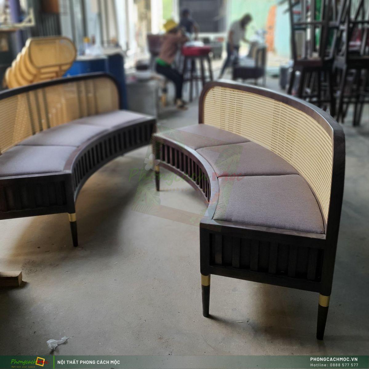ghế băng cafe MF79