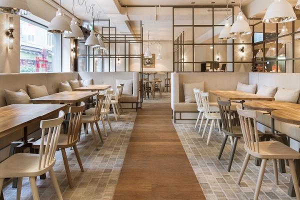 Thiết kế quán cafe đẹp 11