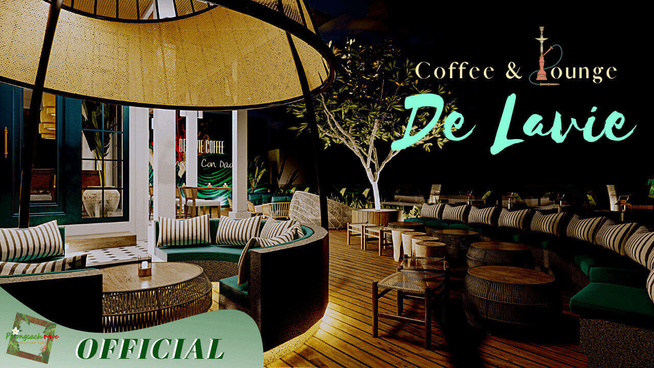 dự án quán cafe lounge - de lavie coffee tại côn đảo pcm thực hiện