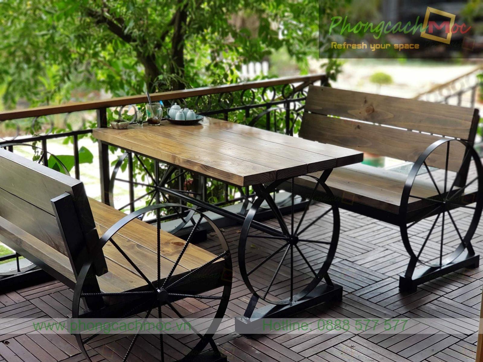 bộ bàn ghế mc364