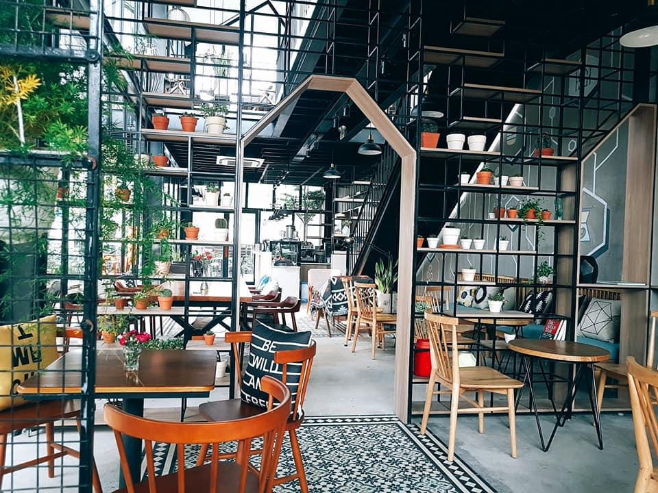 bàn ghế trang trí nội thất cho quán