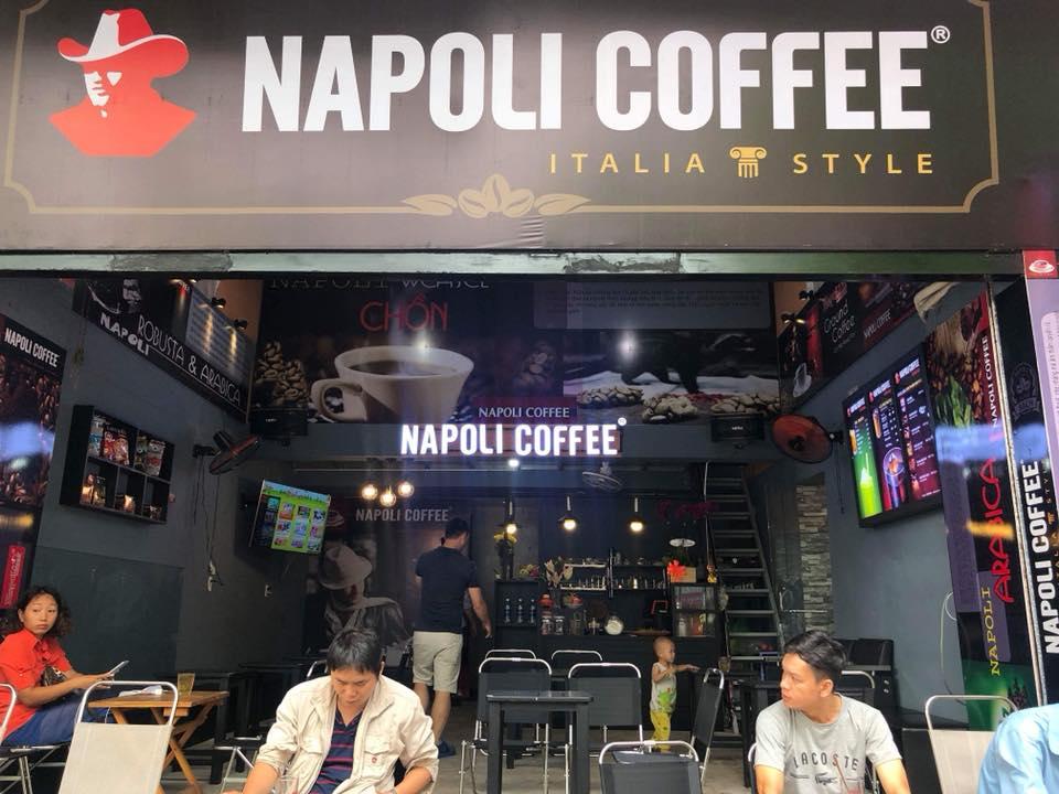 mô hình thương hiệu quán napoli coffee