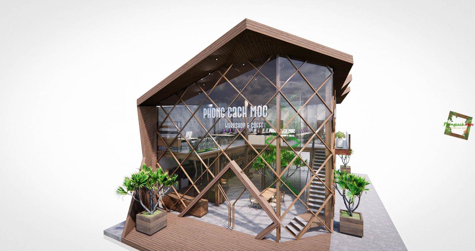 dự án pcm workshop thiết kế theo phong cách industrial