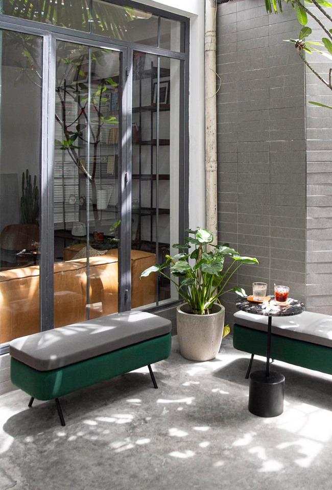 không gian thiết kế nội thất cà phê zero coffee