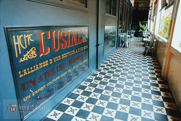 lusine cafe - quán cafe theo phong cách indochine