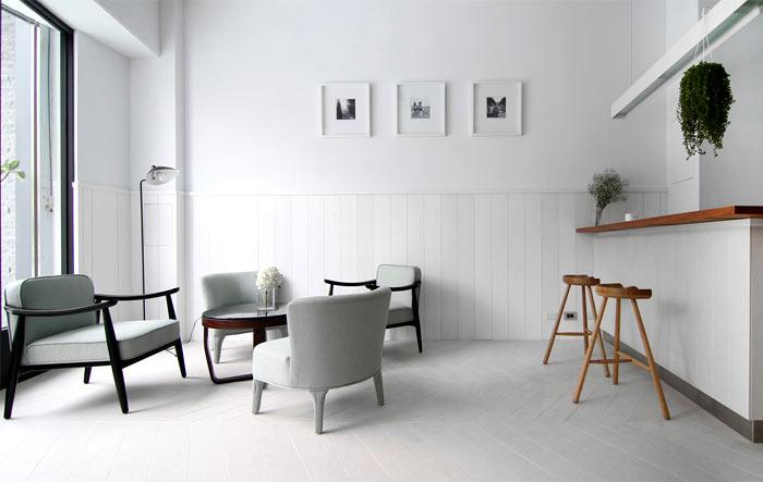 không gian nội thất quán cafe kc coffee