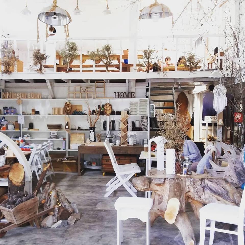không gian quán mistyforest coffee tại đà lạt
